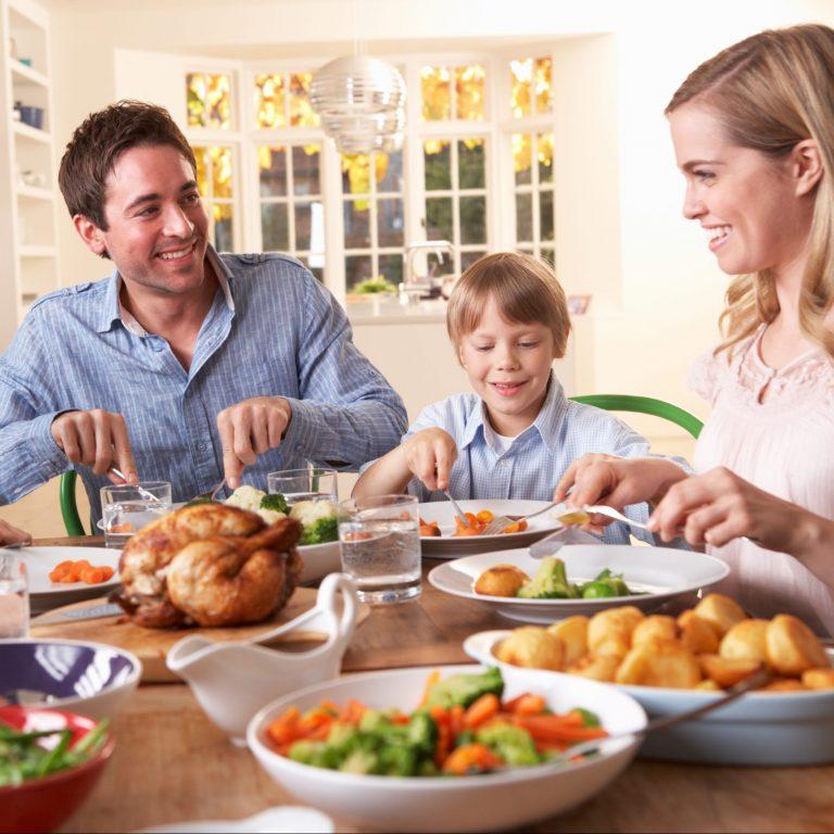 """""""Parasta on että koko perhe voi syödä samaa ruokaa"""""""